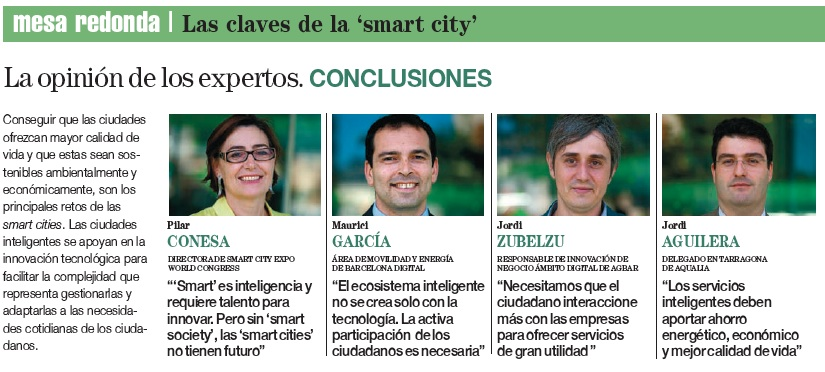 Mesa Redonda Ecópolis Smart Cities