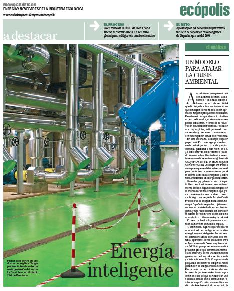 Ecópolis, Energía y novedades de la industria ecológica