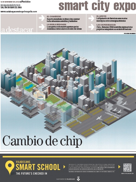 Portada Especial Smart City Expo World Congress de El Periódico de Catalunya