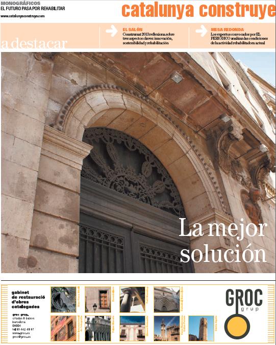 Portada Especial Cataluña Construye 22 de mayo de 2013