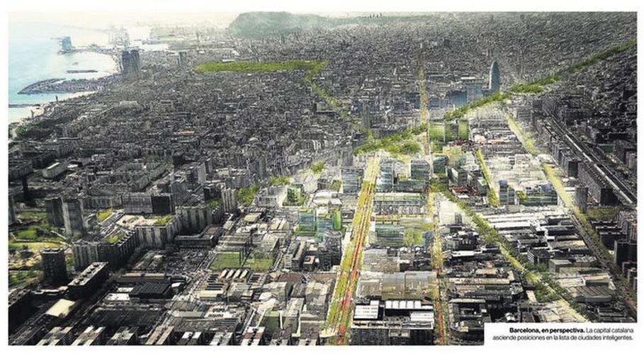 Convertir las #ciudades en inteligentes y sostenibles. Ecópolis #smartcityexpo y #SmartCities